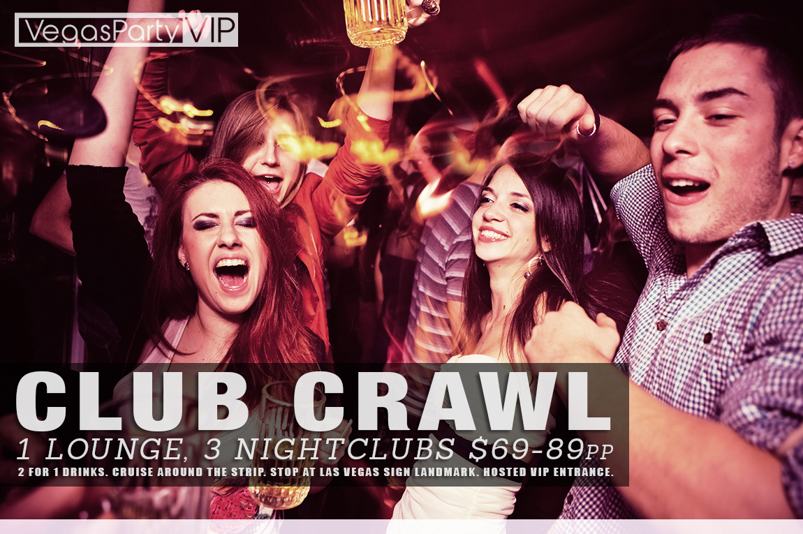 Club Crawl Las Vegas