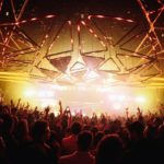 inside main room of Hakkasan nightclub Las Vegas
