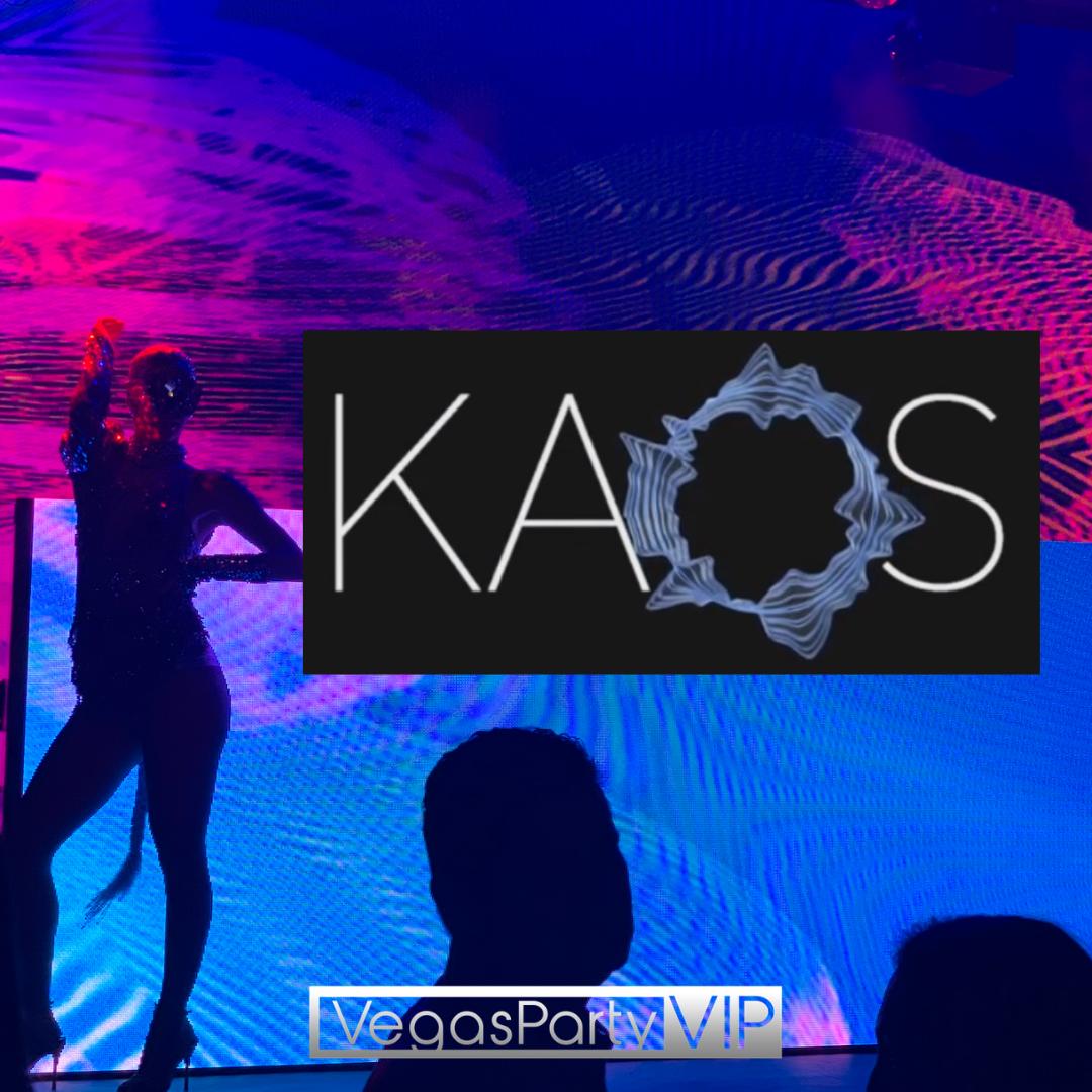 Kaos Nightclub and Day Club in Las Vegas