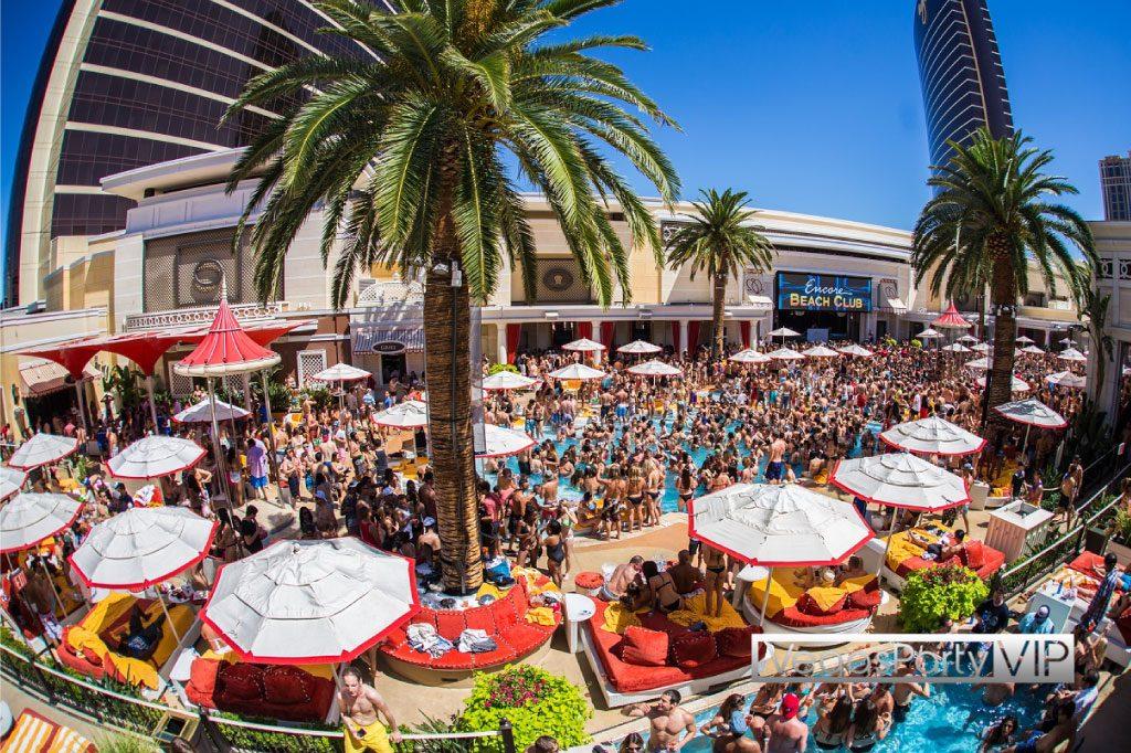 Encore Beach Club Vegas Party Vip