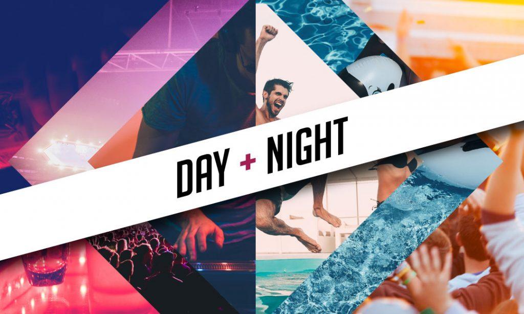 Day + Night club and pool crawl