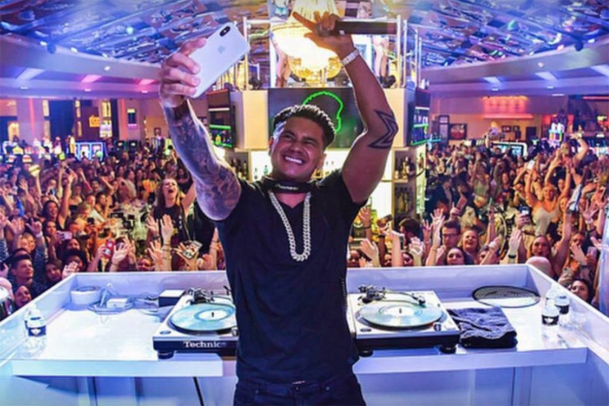 DJ Pauly D at Drai's Nightclub
