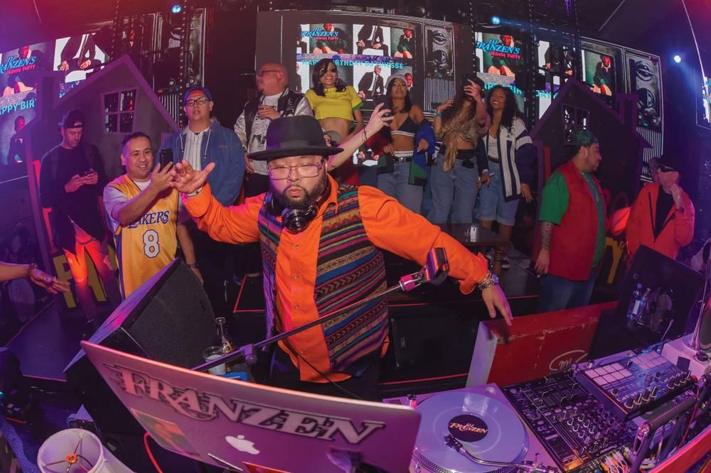 DJ Franzen at Drai's Nightclub