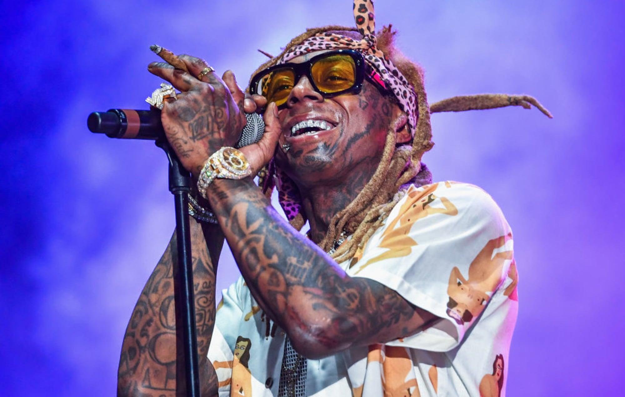 Lil Wayne at Drai's Nightclub